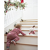 Toddler, Christmas, Morning