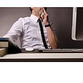 Businessman, Business, Thinking