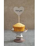 Dessert, Valentine, I love you