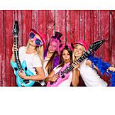 Friends, Dress up, Photo shoot, Joke device