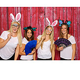 Friends, Costume, Dress up, Photo shoot, Bachelorette party