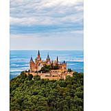 Castle, Castle hohenzollern, Hohenzollern