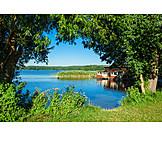 Boathouse, Wustrow, Kleiner pälitzsee