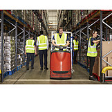 Warehouse, Warehouse, Inventory, Warehouse clerk, Warehouse clerk