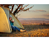 Camping, Camping, Hiking vacation