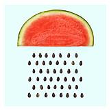 Pios, Rain, Watermelon
