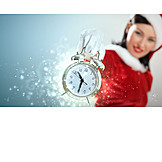 Alarm clock, Christmas, Advent season