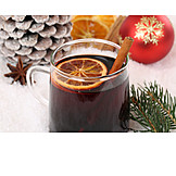 Mulled wine, Christmas punch
