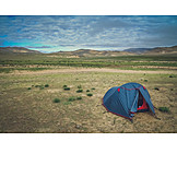 Tibet, High country, Camping
