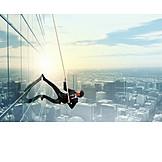 Business, Upward, Challenge, Courage