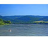 Danube river, Dunakanyar, Visegrád