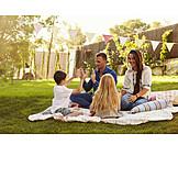 Garden, Family, Summer