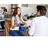 Team, Colleagues, Brainstorming, Appraisal interview