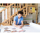 Blueprint, Architect, Draft