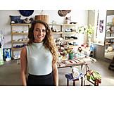 Retail, Shop, Female shop owner
