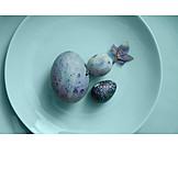 Blue, Easter eggs, Easter decoration