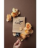 Love, Loving, Love letter, Calligraphy