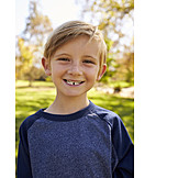 Child, Summer freckle, Tooth gap