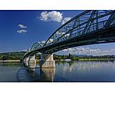 Steel bridge, Dunakanyar