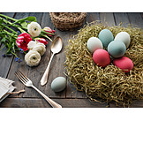 Easter decoration, Country style, Easter time