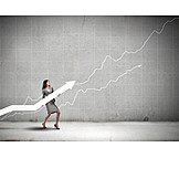 Growth, Winning, Businesswoman