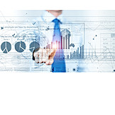 Business, Bilanz, Wirtschaft, Touchscreen, Interface