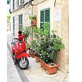 Scooters, Majorca, Vespa