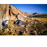 Andes, Wild camping