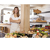 Gastronomy, Groceries, Bistro, Waiter