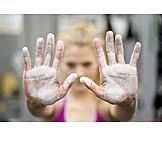 Sports training, Athlete women, Magnesia
