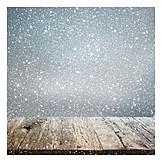 Wood, Snow, Glitter