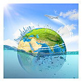 Energy production, Doomsday, Water consumption, Ecological footprint
