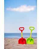 Beach, Vacation, Summer holidays, Sand toys