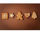 Gingerbread, Christmas cookies, Gingerbread cookie, Christmas motifs