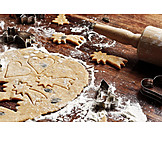 Biscuit cutter, Christmas cookies