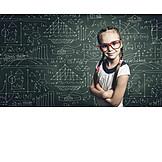Child, Girl, Education, Intelligent, Child Prodigy