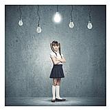 Child, Girl, Knowlege, Intelligent, Child Prodigy