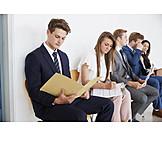 Business, Waiting, Recruitment, Candidates