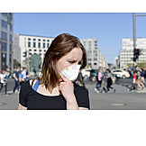 Mouthguard, Air Pollution, Particulate Dust
