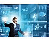 Business, Statistik, Digital, Datenanalyse