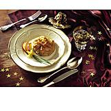 Dessert, Christmas dinner
