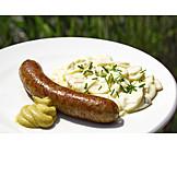 Sausage, Fried sausages
