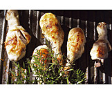 Broiling, Chicken thighs