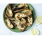 Grooved, Seafood, Pandalid shrimp