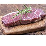 Beef steak, Marbled effect, Beef