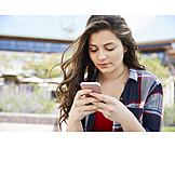 Teenager, Mobiltelefon, Texten