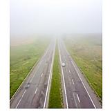 Highway, Fog