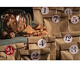 Paper bag, Advent calendar