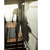 Shadow, Person, Stairway, Appearance
