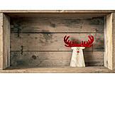 Christmas decoration, Elk